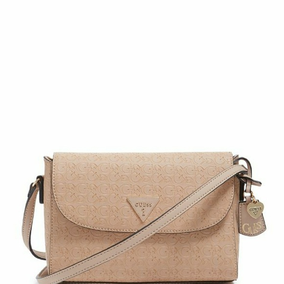 New Guess Logo Everett Crossbody Bag 82d759db60d1d